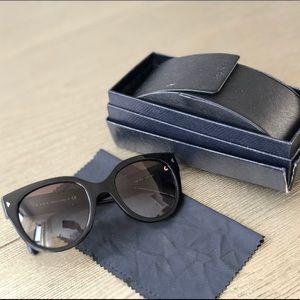 b739a107778 Prada Accessories - PRADA Black Cat Eye Sunglasses